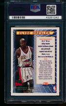 Load image into Gallery viewer, 1996 Topps Mystery Finest Bordered Refractor M13 Clyde Drexler  PSA 10 GEM MINT