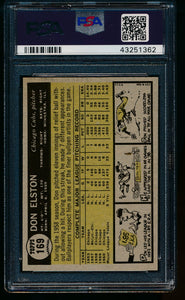 1961 Topps  169 Don Elston  PSA 8 NM-MT 13482