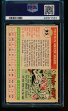 Load image into Gallery viewer, 1955 Topps  95 Preston Ward  PSA 7 NM 13487