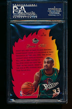 Load image into Gallery viewer, 1996 Fleer Flair Showcase Hot Shots 6 Grant Hill  PSA 10 GEM MINT 13508