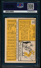 Load image into Gallery viewer, 1963 Topps  185 Chuck Hiller  PSA 7 NM 13567