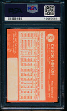 Load image into Gallery viewer, 1964 Topps  52 Chuck Hinton  PSA 8 NM-MT 13582