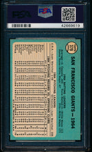 Load image into Gallery viewer, 1965 Topps  379 Giants Team  PSA 7 NM 13600