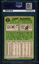 Load image into Gallery viewer, 1967 Topps  46 Lindy McDaniel  PSA 7 NM 13611