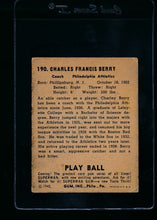 Load image into Gallery viewer, 1940 Play Ball  190 Charley Berry  P 13653