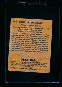 1940 Play Ball  198 Denny Galehouse RC  G 13659