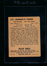 Load image into Gallery viewer, 1940 Play Ball  212 Babe Young RC  VG 13673