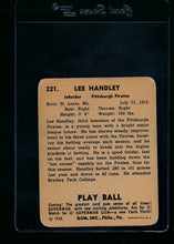 Load image into Gallery viewer, 1940 Play Ball  221 Lee Handley RC  G 13682