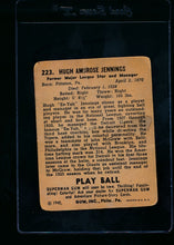 Load image into Gallery viewer, 1940 Play Ball  223 Hughie Jennings  P 13684