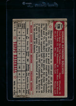 Load image into Gallery viewer, 1952 Topps  128 Don Bollweg RC G 13694