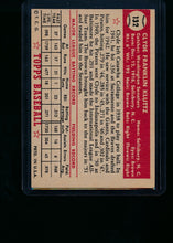 Load image into Gallery viewer, 1952 Topps  132 Clyde Kluttz  VG-EX 13696