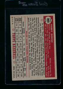 1952 Topps  303 Harry Dorish  EX 13707