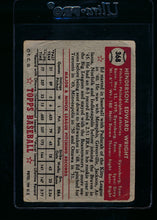 Load image into Gallery viewer, 1952 Topps  368 Ed Wright RC High # P 13715