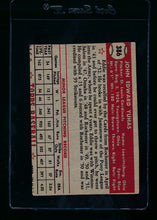 Load image into Gallery viewer, 1952 Topps  386 Ed Yuhas RC High # P (trimmed) 13722