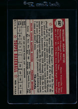 Load image into Gallery viewer, 1952 Topps  387 Billy Meyer MG High # vg (trimmed) 13723