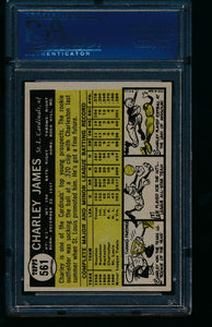 1961 Topps  561 Charley James  PSA 7.5 NM+ 13741