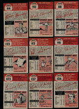 Load image into Gallery viewer, 1953 Topps Baseball Set Builder Lot x9 Low Grade 13792