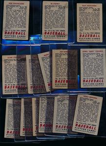 1951 Bowman Baseball Set Builder Lot x22 Low Grade 13799