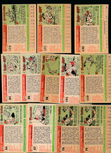 Load image into Gallery viewer, 1955 Topps Baseball Set Builder Lot x12 VG-EX 13802
