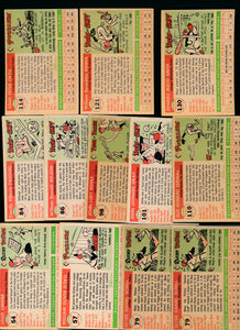 1955 Topps Baseball Set Builder Lot x12 VG-EX 13802