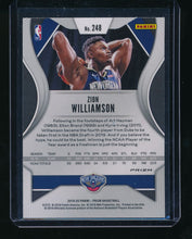 Load image into Gallery viewer, 2019-20 Panini Prizm Fanatics Green Ice 248 ZION WILLIAMSON  NM-MT+ 14377
