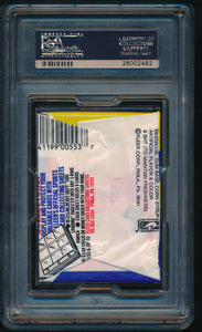1988-89 Fleer   Basketball Wax Pack  PSA 8 NM-MT 14471