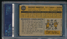 Load image into Gallery viewer, 1960 Topps  350 MICKEY MANTLE HOF PSA 8 (OC) NR-MT 14473