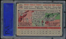 Load image into Gallery viewer, 1956 Topps  135 MICKEY MANTLE HOF PSA 5 EX 14477