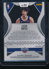 Load image into Gallery viewer, 2019-20 Panini Prizm Green Ice 254 JAXSON HAYES SSP RC Fanatics Exclusive  14495