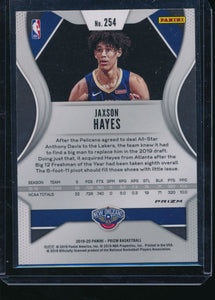 2019-20 Panini Prizm Green Ice 254 JAXSON HAYES SSP RC Fanatics Exclusive  14495