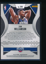 Load image into Gallery viewer, 2019-20 Panini Prizm Red White Blue 248 ZION WILLIAMSON RC  14511
