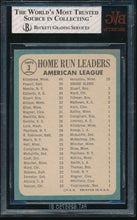 Load image into Gallery viewer, 1965 Topps  3 AL Home Run Leaders Harmon Killebrew/Boog Powell/Mickey Mantle BGS 7 NM 14548