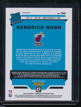 Load image into Gallery viewer, 2019-20 Donruss Optic Purple Prizm  Kendrick Nunn RC Pack-Fresh 14549