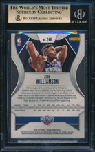Load image into Gallery viewer, 2019-20 Panini Prizm  248 ZION WILLIAMSON RC BGS 9.5 GEM MINT 14618