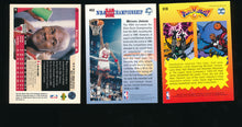 Load image into Gallery viewer, 1990s Upper Deck Angent 23 + More  Michael Jordan Lot x3  14654