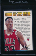 Load image into Gallery viewer, 1998-99 Skybox Premium Soul of the Game  Scottie Pippen   14681