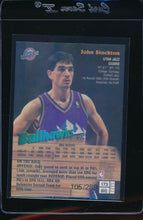Load image into Gallery viewer, 1997-98 Topps Finest Gold Refractors /289  John Stockton   14689