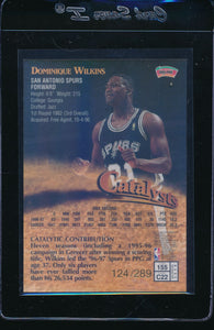 1997-98 Topps Finest Gold Refractors /289  Dominique Wilkins   14692