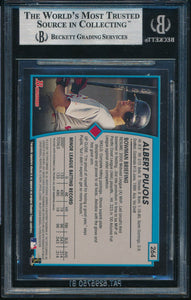 2001 Bowman Gold 264 ALBERT PUJOLS RC BGS 9 MINT 14700