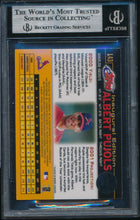 Load image into Gallery viewer, 2001 Bowman E-Topps 143 ALBERT PUJOLS RC BGS 9 MINT 14701