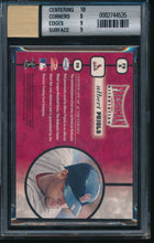Load image into Gallery viewer, 2001 Leaf Rookies Stars ALBERT PUJOLS RC Auto Bat BGS 8.5/10 14702