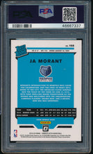 Load image into Gallery viewer, 2019-20 Panini Donruss Optic 168 JA MORANT RC PSA 10 GEM MINT 14707
