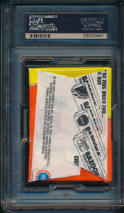 1980-1 Topps Basketball  Wax Pack  PSA 8 NM-MT 14713
