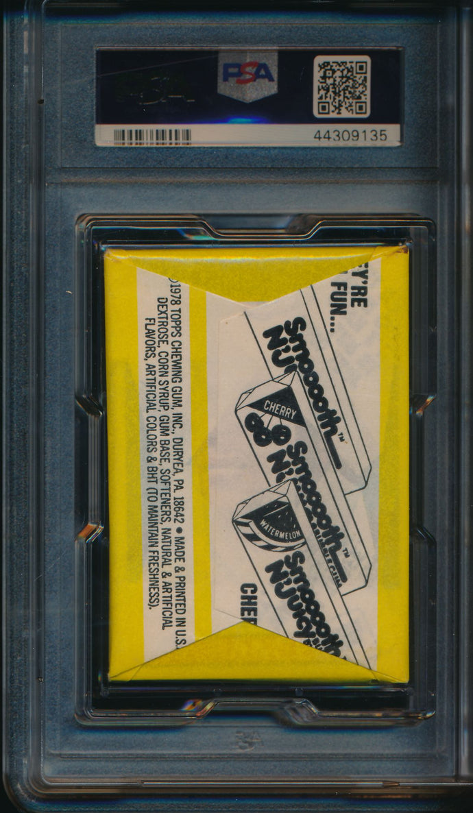 1979 Topps Baseball  Wax Pack  PSA 7 NM 14719