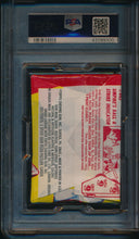 Load image into Gallery viewer, 1973 Topps Baseball  Wax Pack 4th Series PSA 8 NM-MT 14722