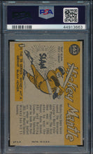 Load image into Gallery viewer, 1960 Topps All Star 563 MICKEY MANTLE  PSA 7 NM 14731