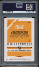 Load image into Gallery viewer, 2019-20 Donruss Optic Fanatics Silver Wave 60 LEBRON JAMES  PSA 10 GEM MINT 14797