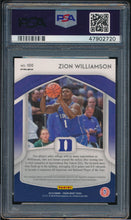 Load image into Gallery viewer, 2019-20 Prizm Draft Pink Pulsar 100 ZION WILLIAMSON RC PSA 9 MINT 14802