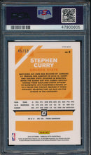 Load image into Gallery viewer, 2019-20 Donruss Optic 8 Stephen Curry Blue PSA 9 MINT 14910