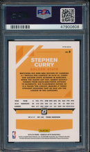 Load image into Gallery viewer, 2019-20 Donruss Optic 8 Stephen Curry Holo PSA 10 GEM MINT 14912